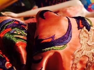 マルヤマケイタさんの刺繍