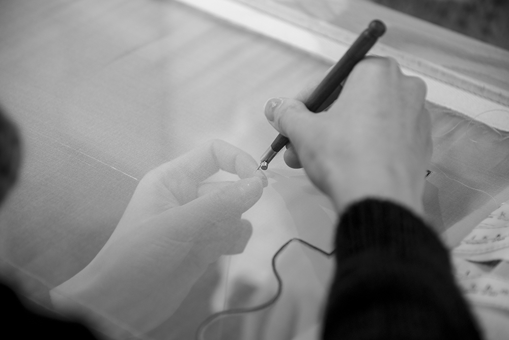 リュネビル刺繍のお教室