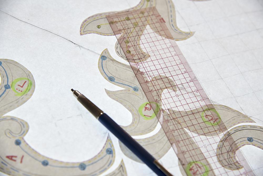 刺繍の図案