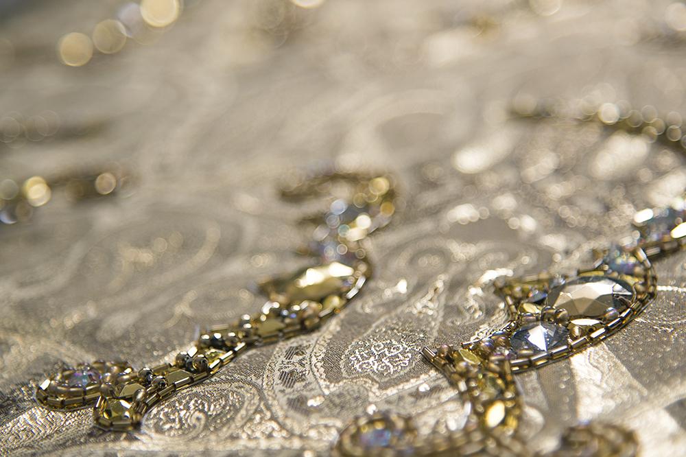 金刺繍 オートクチュール刺繍