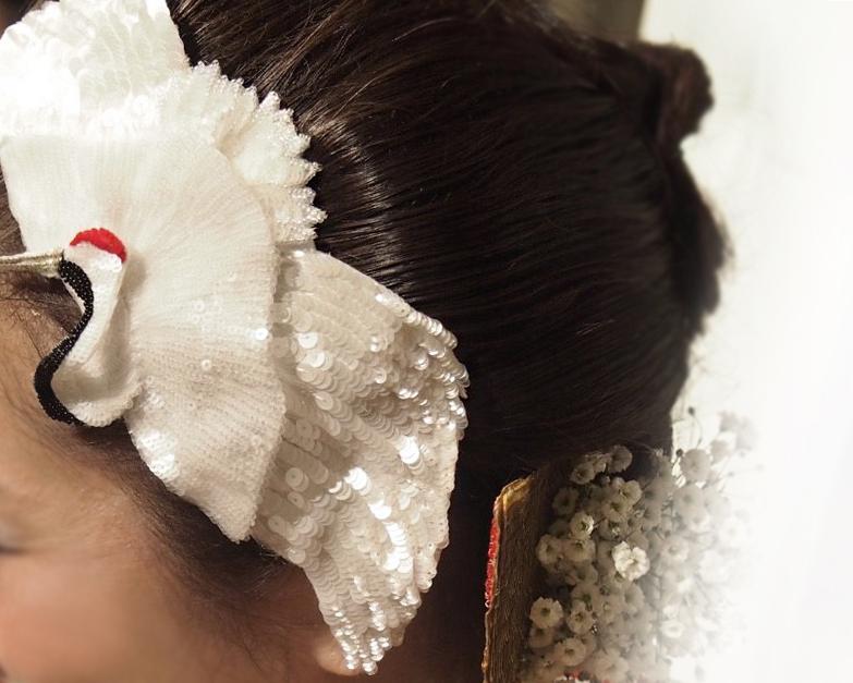 和装の刺繍 オリジナル