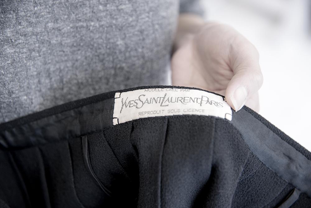サンローラン ビンテージスカート