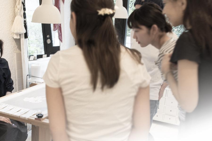 オートクチュール刺繍 リュネビル刺繍 お教室