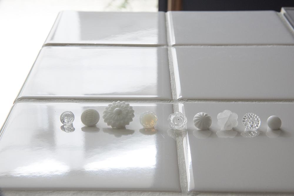 アンティーク ボタン ガラス