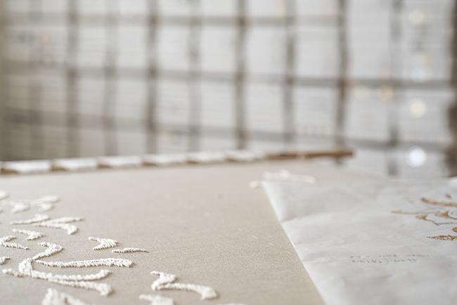 オートクチュール リュネビル 刺繍 糸