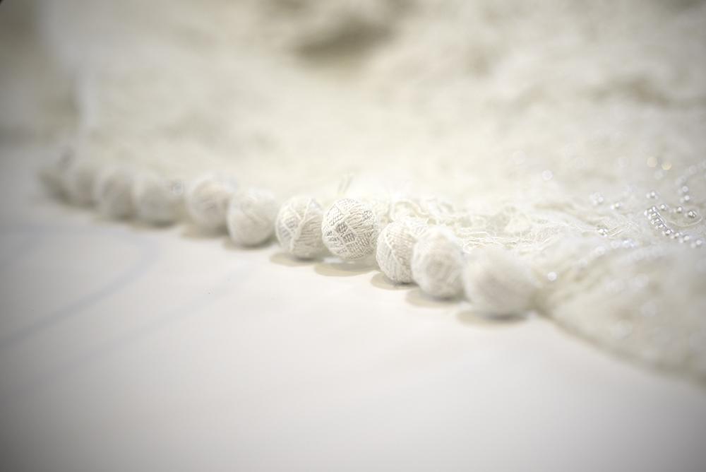 パール 刺繍 ウエディング オーダー