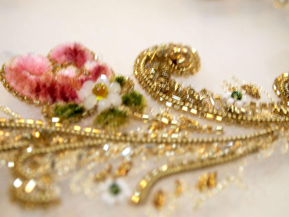 金刺繍 イギリス インド