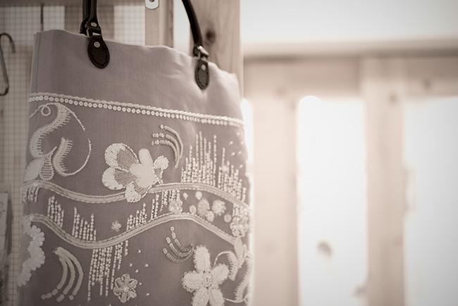 刺繍 バッグ お教室