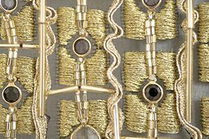 ゴールドワーク オートクチュール 刺繍