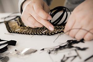 チェーン 衣装 オートクチュール 刺繍