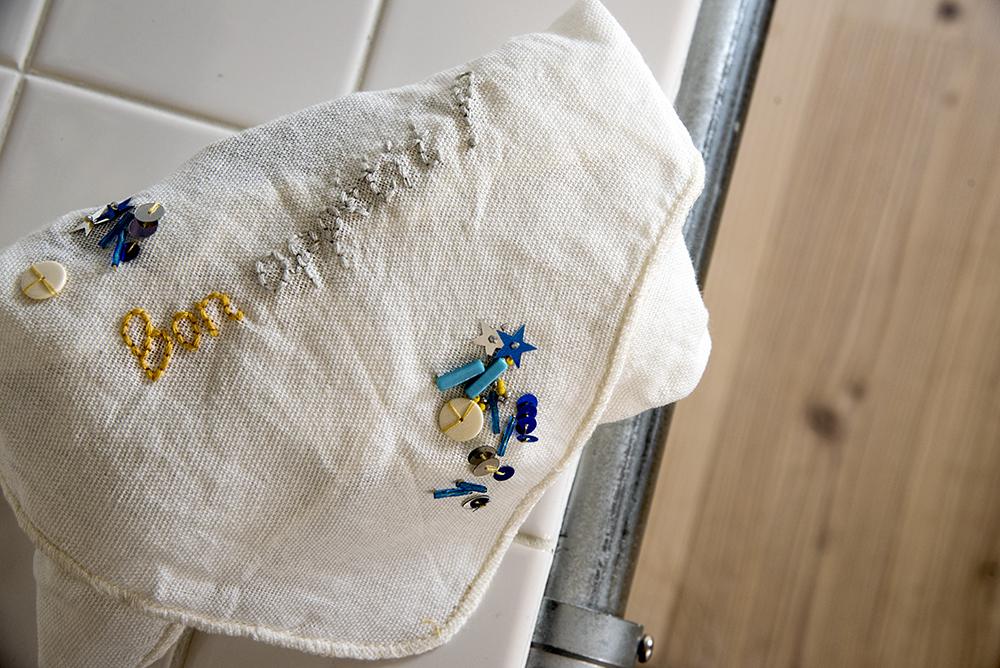 弁当 袋 刺繍