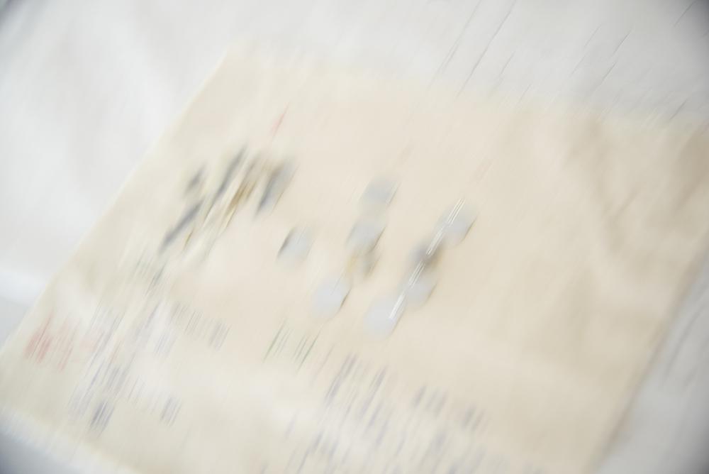 変形 スパンコール リュネビル 刺繍