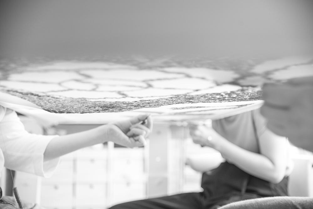 スパンコール オートクチュール 刺繍 オーダー