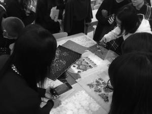 オートクチュール 刺繍 講義