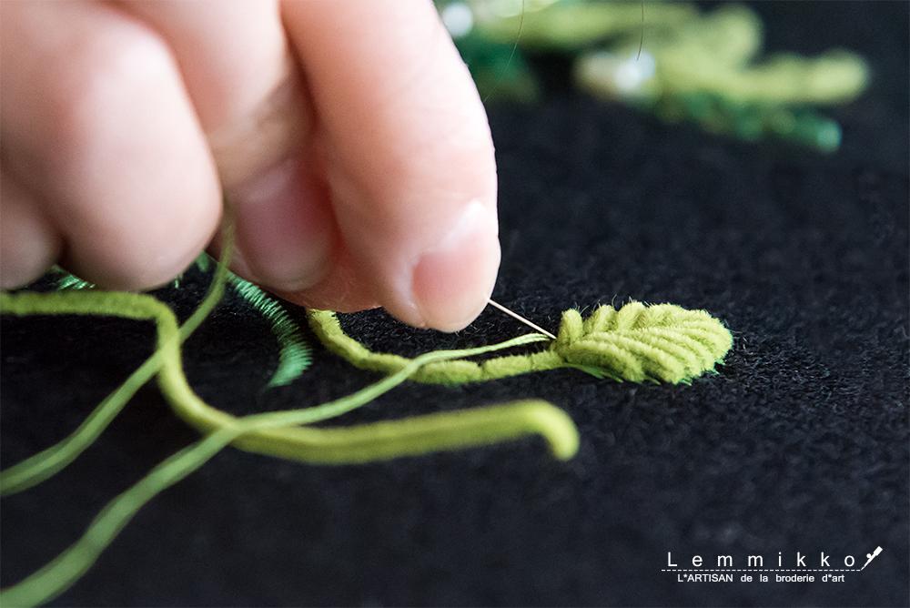 リュネビル 刺繍 お花 お教室