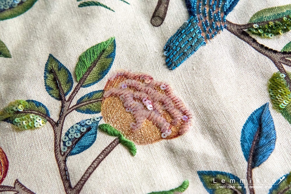 リュネビル刺繍 お教室