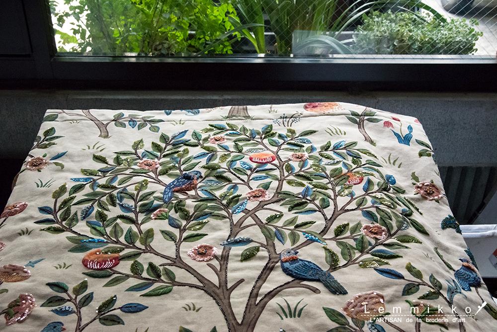 リュネビル刺繍 オートクチュール刺繍 お教室