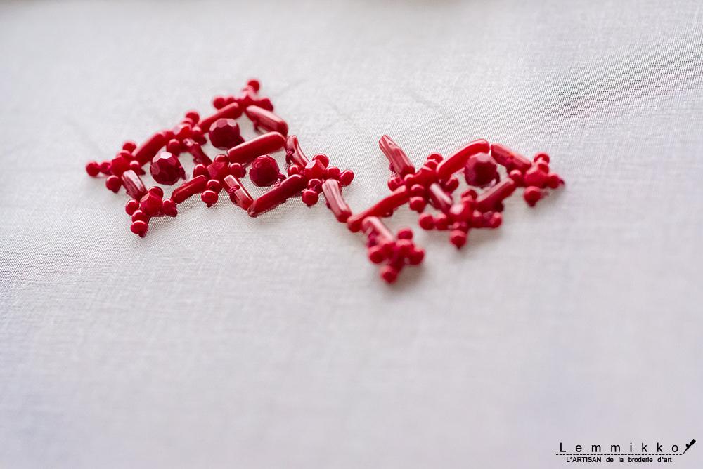 オートクチュール刺繍 リュネビル刺繍