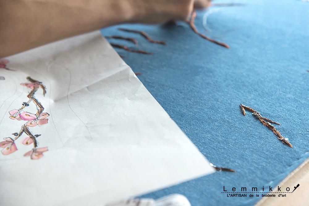 刺繍 オーダー