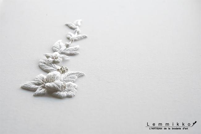 糸 シンプル 刺繍