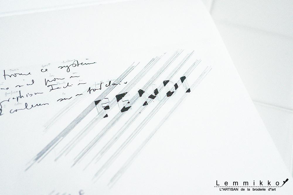 フェンディー 刺繍