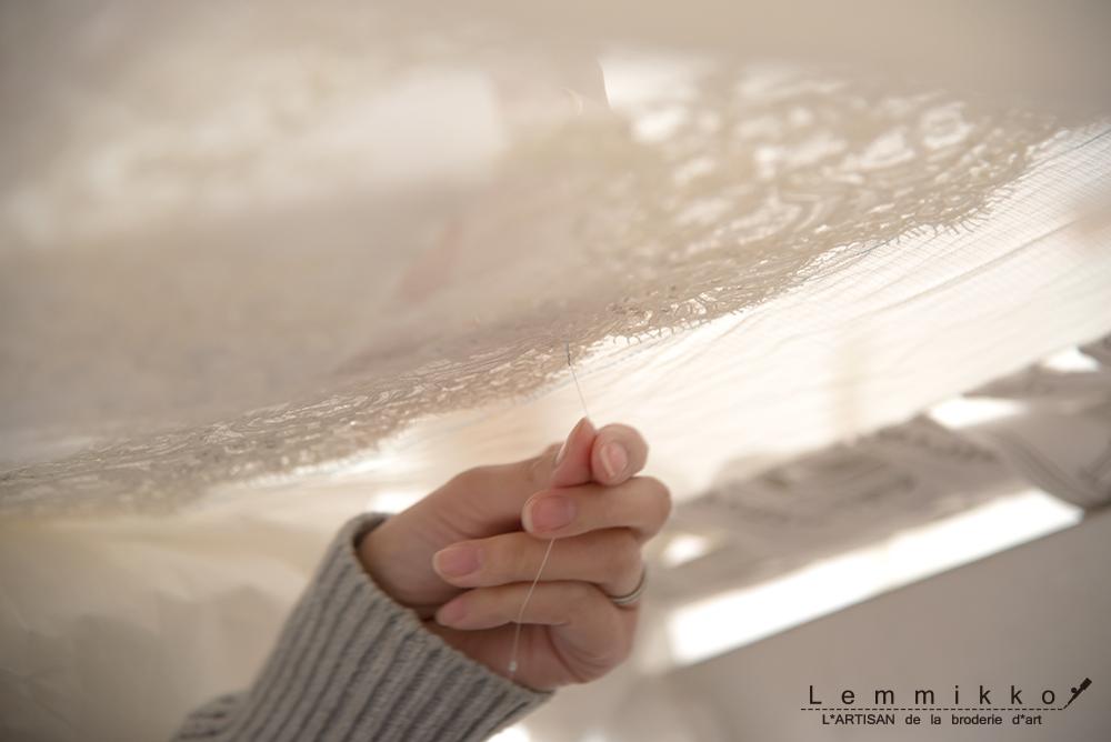 チュール オートクチュール リュネビル 刺繍