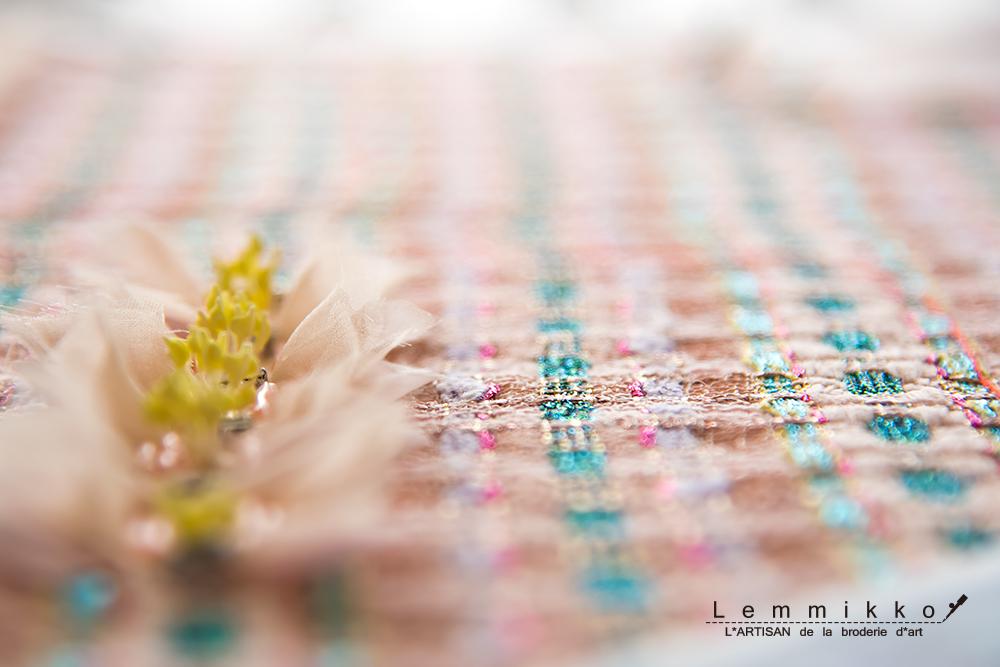 お花 リュネビル オートクチュール 刺繍