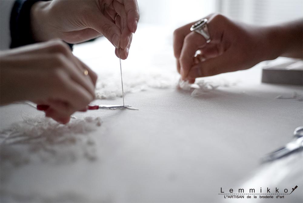 リュネビル 刺繍