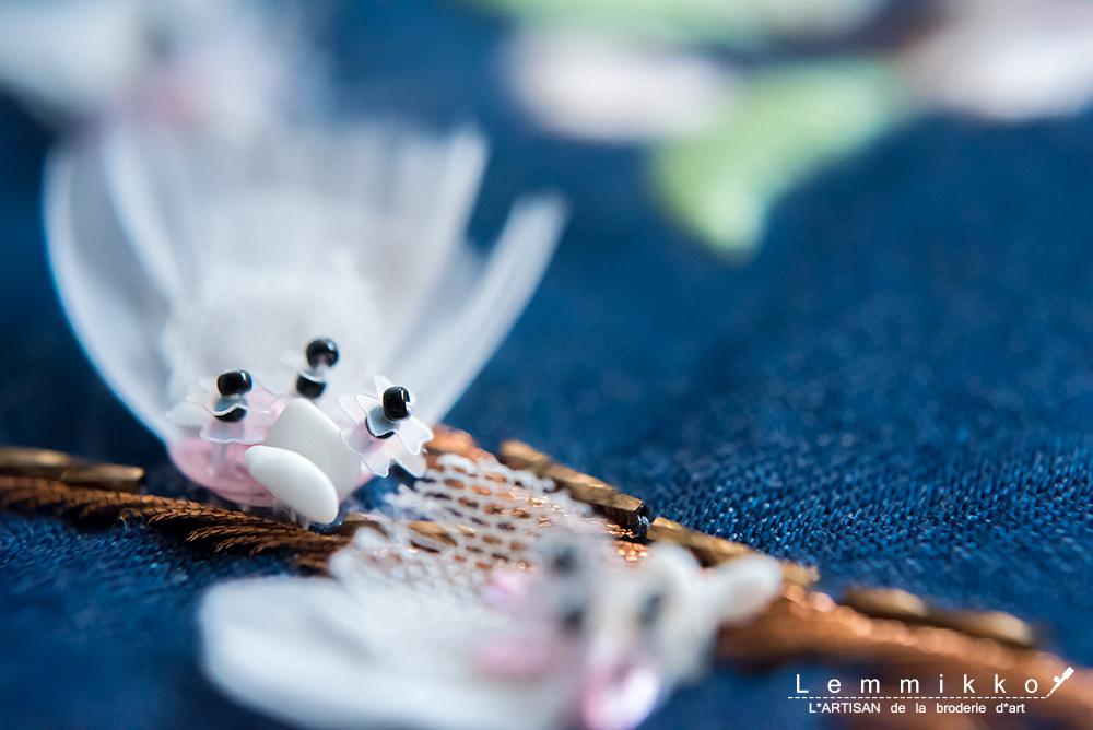 お花 刺繍 作り方