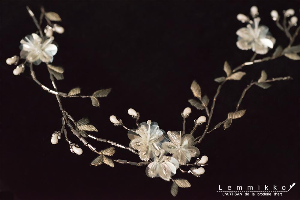 オートクチュール 刺繍 花