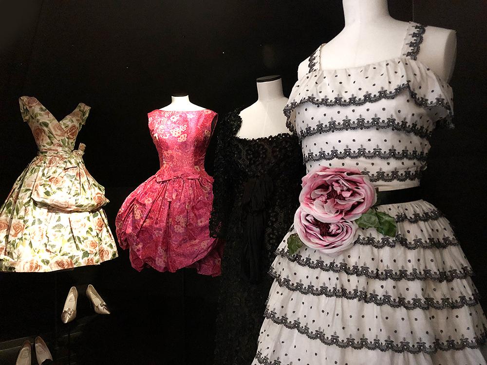 ディオールの有名なドレス