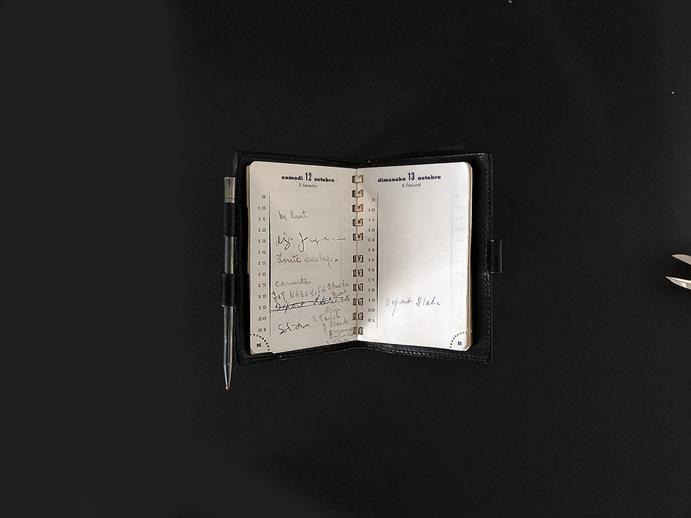 ディオールの手帳