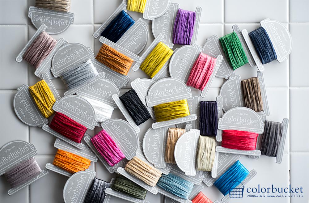 リュネビル刺繍の素材