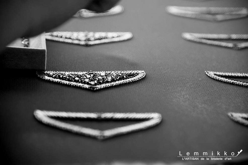 刺繍のブローチの作り方