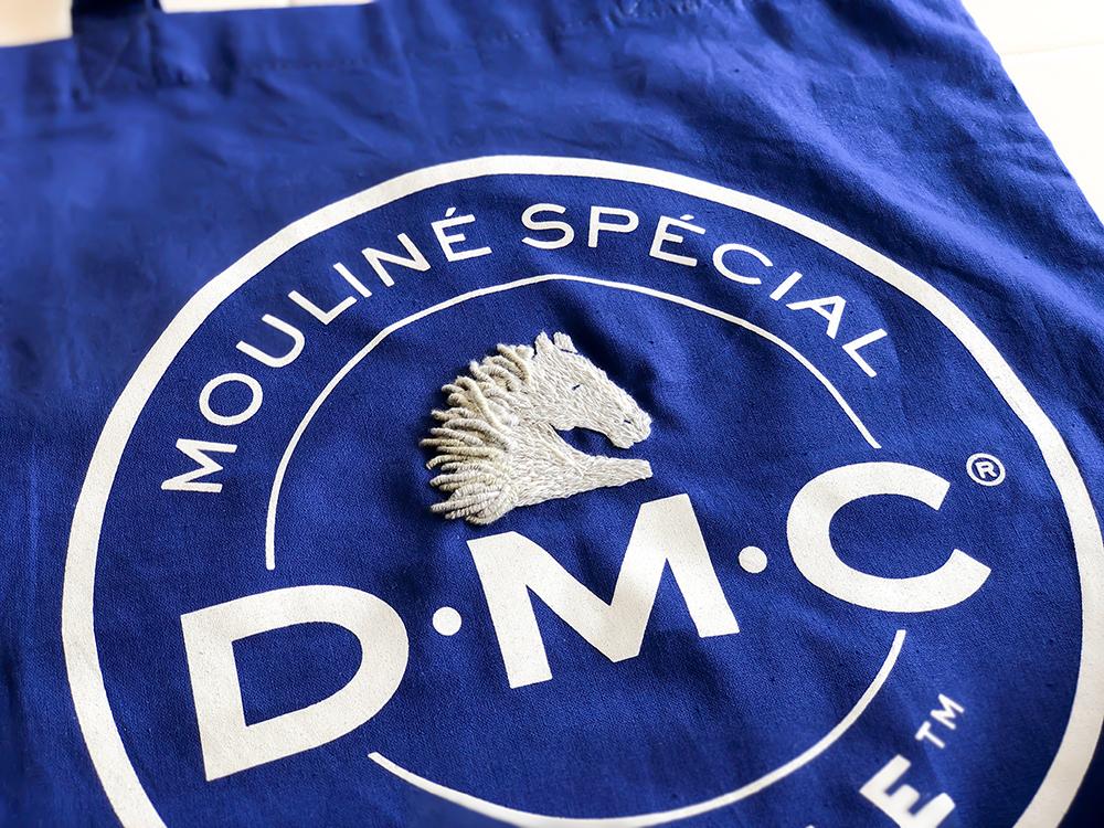 dmcの25番糸の刺繍