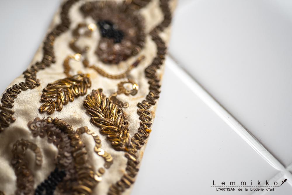 ビンテージの刺繍サンプル