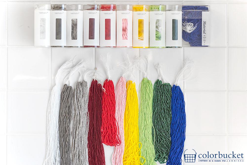 リュネビル刺繍糸通しのビーズ