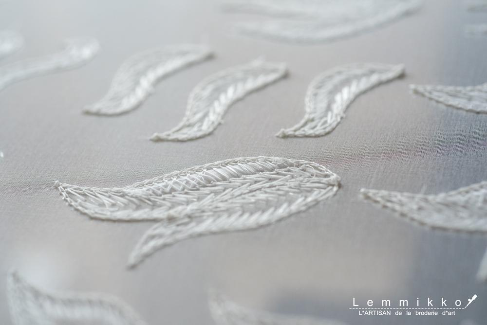 リュネビル刺繍の裏