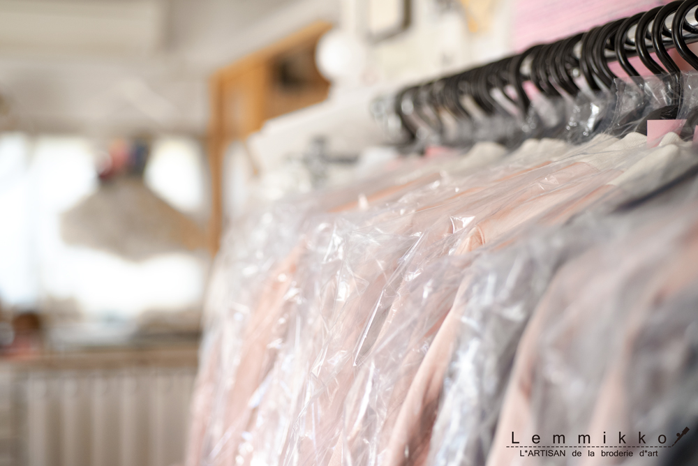 刺繍の量産