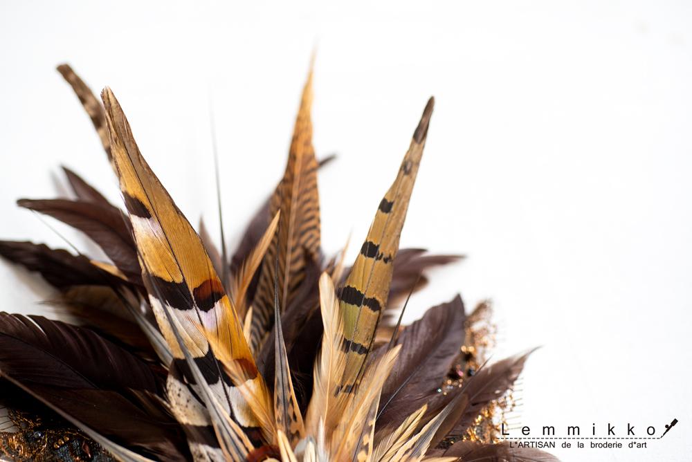 羽根のオートクチュール