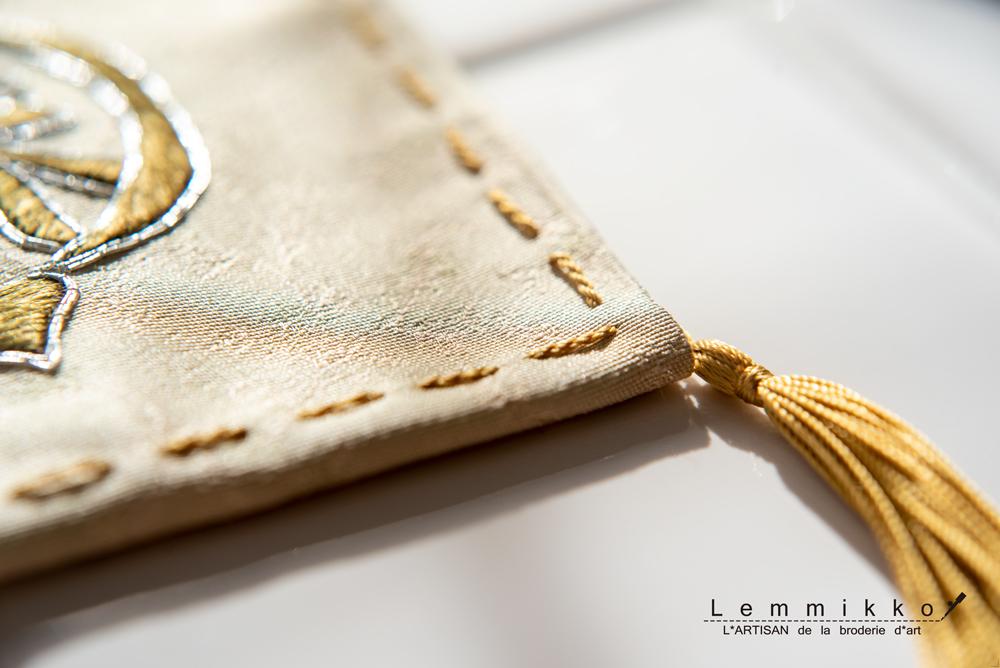 日本刺繍オートクチュール刺繍