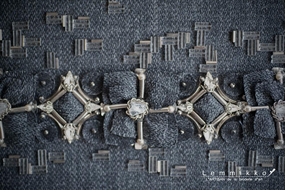 オートクチュール刺繍のオーダー