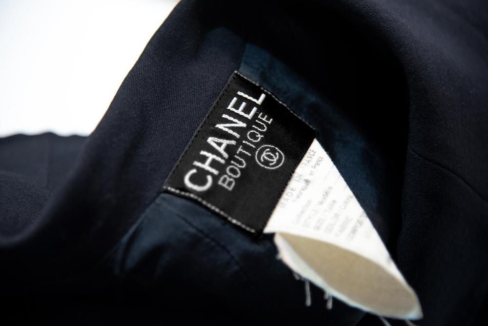 ビンテージのシャネルジャケットの刺繍