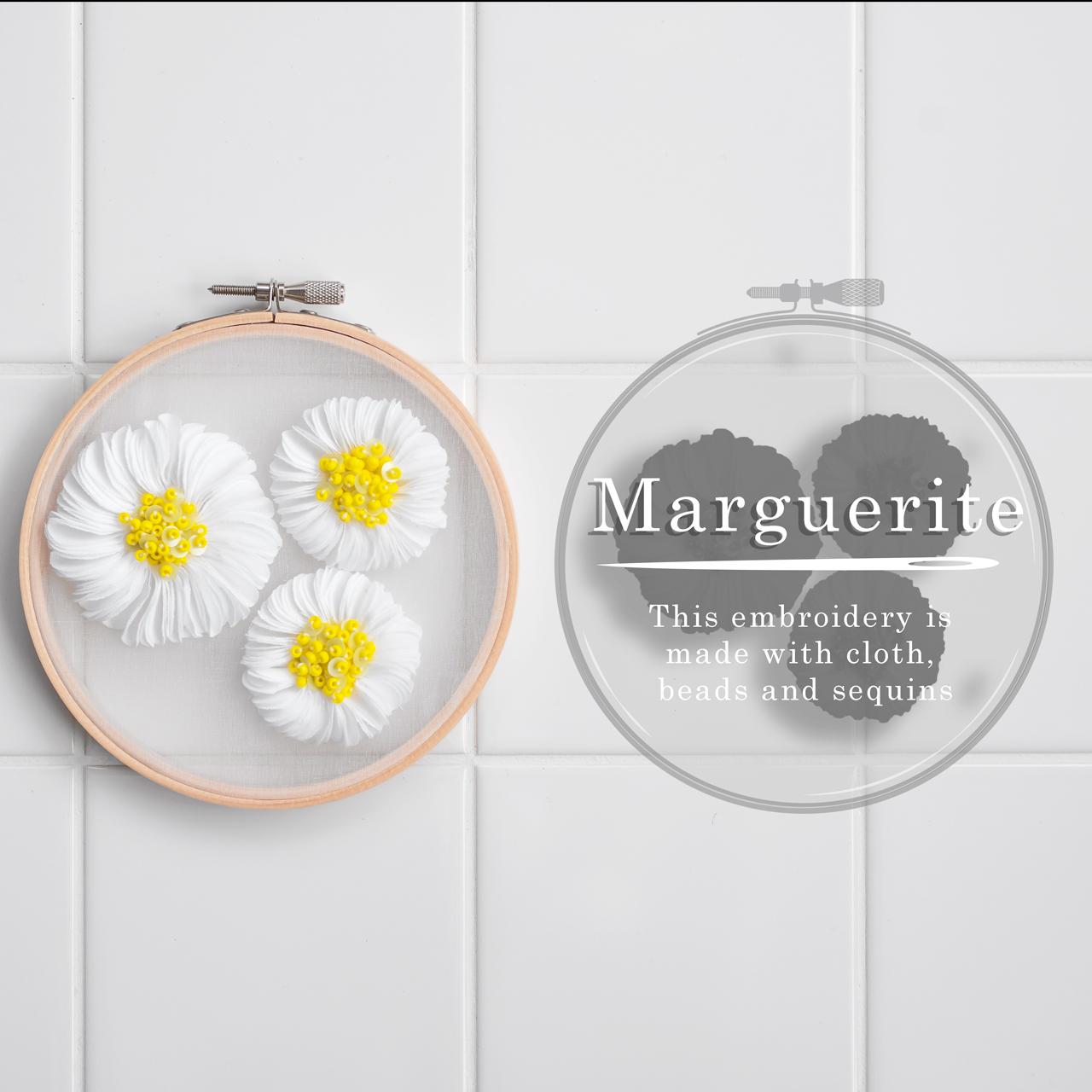 マーガレットの刺繍キット